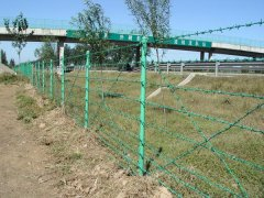 大广高速公路刺铁丝护栏
